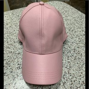 NEW Genuine Leather baseball cap